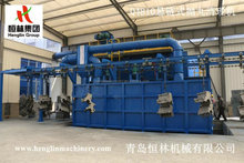 Q4810 suspension type shot blasting machine