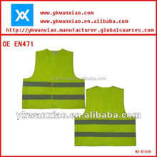 Promotional Custom Reflective Safety Vest With Logo Printed