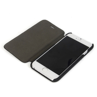 Genuine leather flip cover,for iphone cell phone leather case,leather case for iphone 6