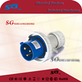 IP67 3P industrial plug 220/240V electrical plug