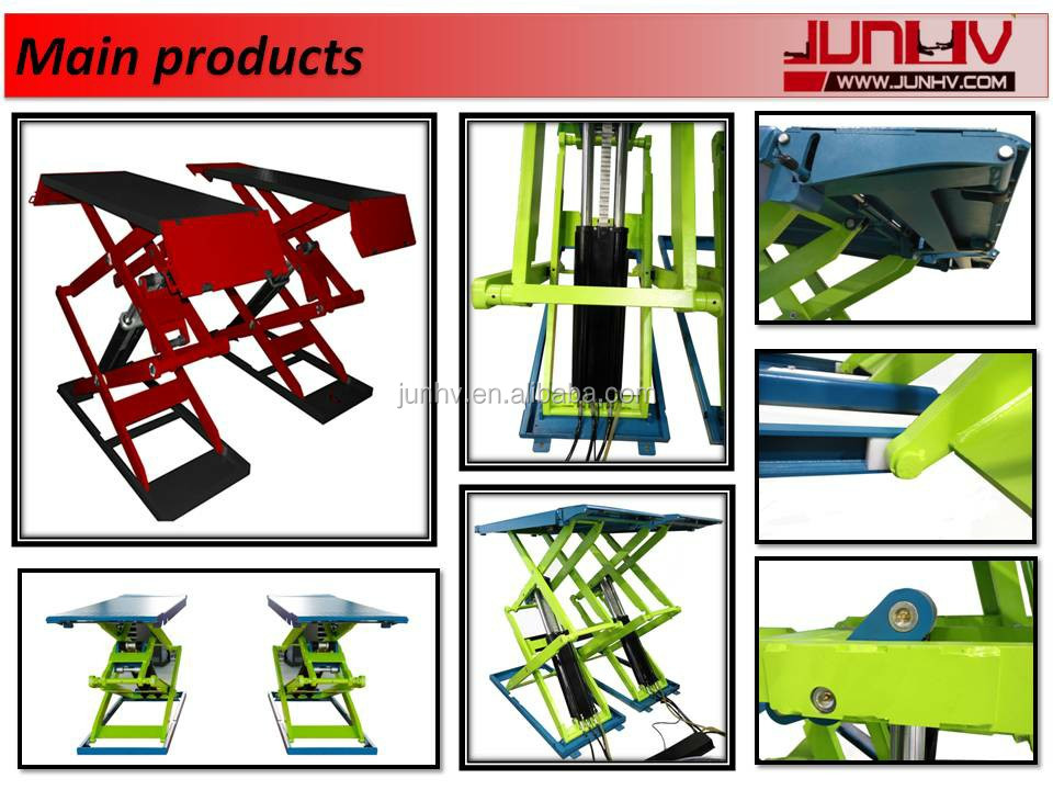 Lifting Equipment Scissor Lift Cars High Quality Used Auto Lift 3000