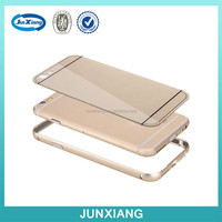 Metal Aluminum Bumper Case for apple iphone 6 bumper cover gold
