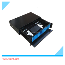 SC/LC/FC/ST rack mount/wall mount patch panel, Pull-out 12 24 48 96 144 port fiber optic patch panel