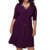 Europe women style 100% cotton plus size ladies ruffle short dress