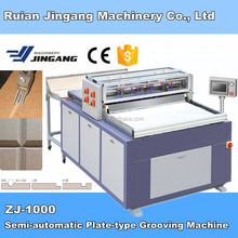 [High precision] ZJ-1000 Semi-automatic Grooving Machine for album production machine
