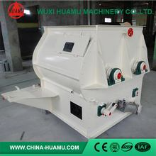 Newest top quality double blade paddle feed mixer