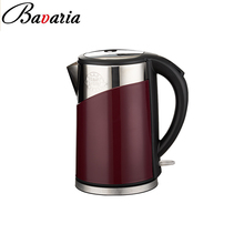 1.7L Electric Kettle, Auto Shut-Off and Boil-Dry Protection, Stay-Cool Exterior, BPA free,Cordless,Wine Color