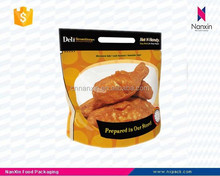 resealable roasted chicken packaging portable bag