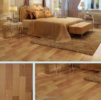 Resilient pvc vinyl wood look flooring for hosing project