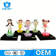 Customize peony fairy,garden fairy figurines,OEM resin figurine factory