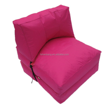 Comfortable Multi colour Tri fold Bean Bag Flip Chair Convertible Sleeper Dorm Bed Couch Lounger Sofa