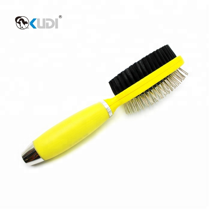 Silicon Pet hair Brush Dog Stainless Steel Grooming Comb