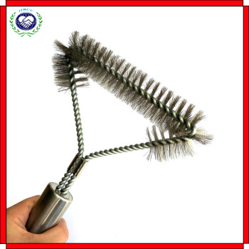 Hot Selling 12-inch steel wire grill brush