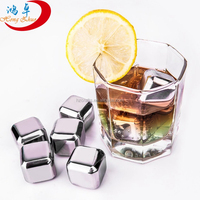 Stainless steel 304 Material and Eco-Friendly Feature ice cube stone,ice rocks, whiskey stone