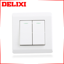 DELIXI 250V 86*86mm British Standard novelty switch plate cover
