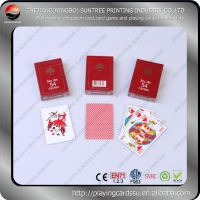 Top quality excellent texture printing playing cards