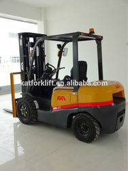 New apperance,more streamlined 2ton gasoline Nissan forklift truck with TCM technology