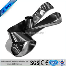99.95% high purity cold rolled tungsten foil from manufacturer in China