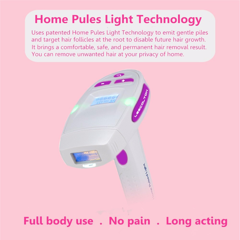 Painless permanent mini ipl device professional vertical diode laser hair removal
