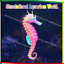 Artificial Sea Horse Floating silicone Aquarium FIsh