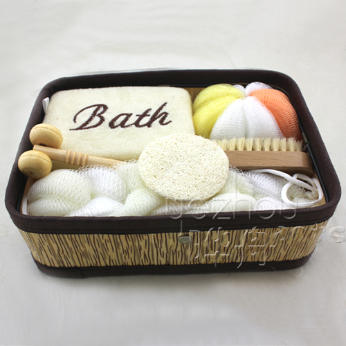 Cheap Natural Wooden Bath Gift Sets