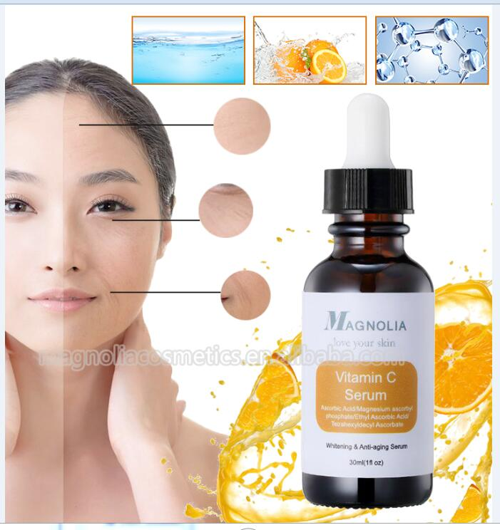 Private Label Facial Vitamin C Serum for whtening ,Deep Skin Hydration, Smoother, Healthier, Younger Skin