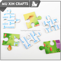 Cartoon Intellective board game jigsaw paper folding puzzle
