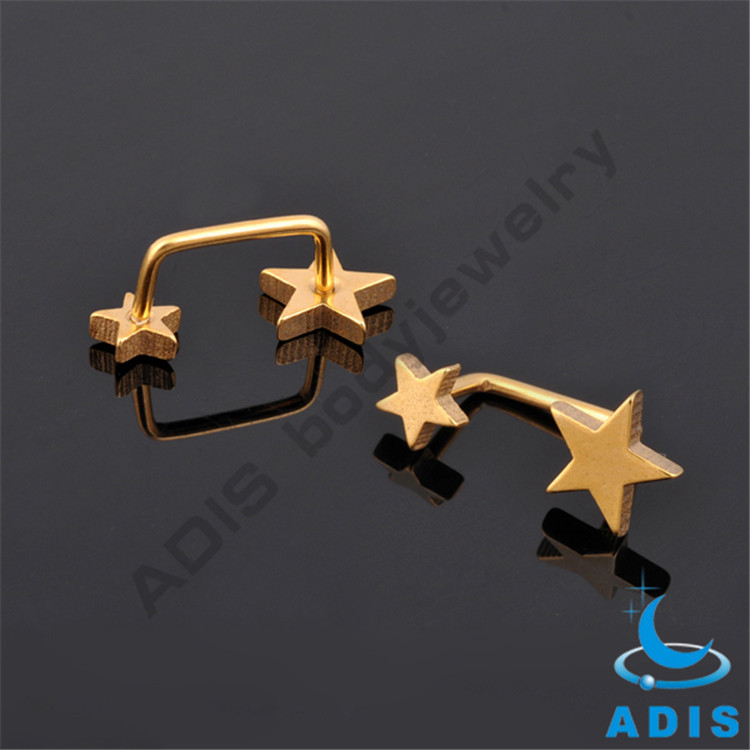 Top Quality G23 Titanium Dermal Anchor Tops Skin Piercing