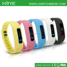 J-Style Bluetooth Step Counter Sleep Monitor Activity Tracker Heart Rate Monitor