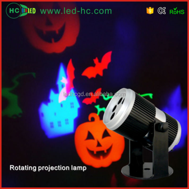 2016 new products led projection light 4W RGBW halloween decoration lights