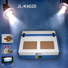 China factory with laser 4020 cutting machine for bamboo toy block hot sale with CE
