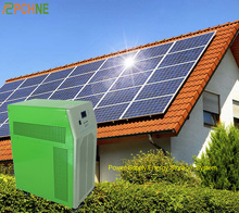 Home Solar DC 48V Battery Energy Storage System Off Grid With Inverter 1KW 3KW 5KW Solar Panel