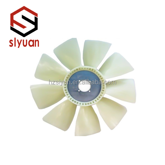 Volvo excavator spare parts cooling fan 14505631 applies to D6D model EC210BLC cooling fan
