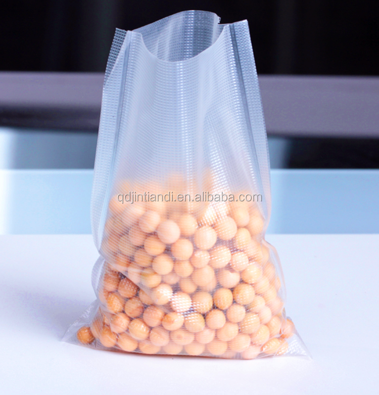 Factory price water soluble clear flat plastic bag packaging for fishing lure/fish food packaging bag