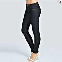2015 newly design wholesale black supper skinny jeans JXC00237
