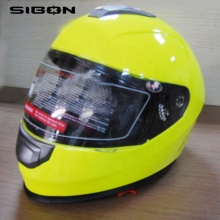 SIBON B0820105 DOT ECE AS-NZS double visor adult full face helmet for motorcycle