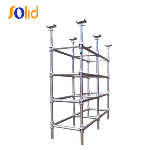 Galvanized Painted Cuplock System Scaffolding
