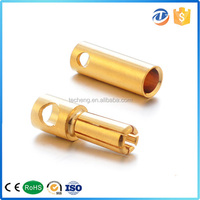 male and female copper stainless steel 5mm rc plug connector ec5 for electrical power adaptor