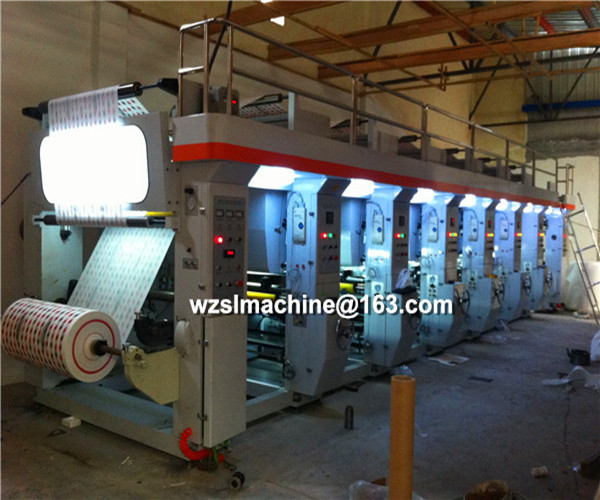 Gravure printing machine/rotogravure press/intaglio printing press/for paper,plastic film,Aluminum foil