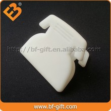 Telephone shape mini clip Advertising promotional gifts to send customers gifts