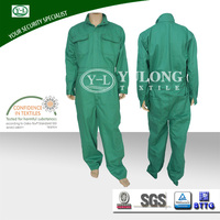 wholesale Teflon finish high tear strength cotton material waterproof, oilproof, dustproof functional safety carpenter workwear