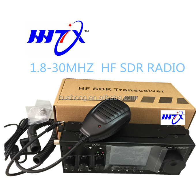 The best popular Military 1.8-30mhz 27mhz SDR SSB amateur radio hf transceiver