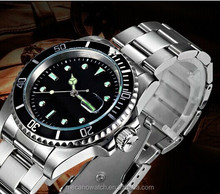 Best Price Lastest Design Mechanical Movt All Stainless Steel Water resistant Men Wristwatches With Custom Logo
