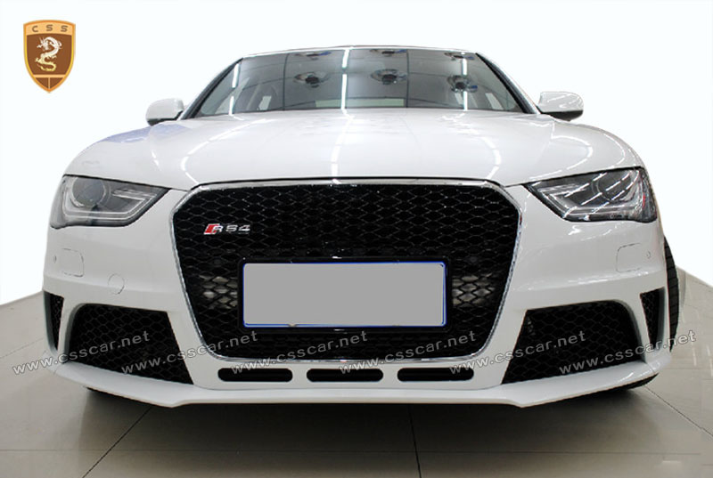 For 2014-2016Audi body kit A4 change to RS4 ,by PP material body kit