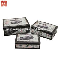 Classic cars wooden boxes&gift boxes