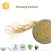 Ginseng root extract HACCP KOSHER FDA pesiticide free pharmaceutical 10% 80% ginsenosides