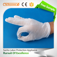 11# Good cheap and high quality industrial cotton gloves