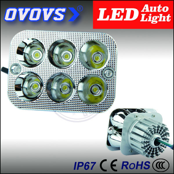 OVOVS China supplier hot sale moto accessories 12v 18w moto led light for electric bike motorcycle