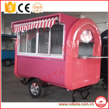 CE Mobile Food concession Trailer/best global Breakfast Vending Trailer design