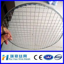 Circle Galvanized barbecue crimped wire mesh
